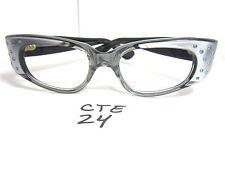 63371c2ecc Authentic Vintage Medium Fit 1950s 60s Cat Eye Eyeglass Frame Platinum  (CTE-24