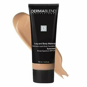 Dermablend Leg and Body Makeup Foundation with SPF 25 20N Light Natural 3.4 F...