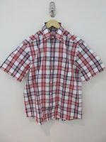 RM Williams Mens Bundaleer Shirt Size XS Short Sleeve Regular Fit Check New