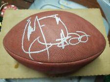 Emmitt Smith Signed autographed Football Dallas Cowboys Wilson taglibue