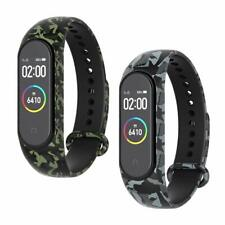 [2-Stück]Armband Fitness Sport Uhrenarmband Ersatz Band für Xiaomi Mi Band 3/4