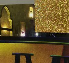 Gold Prisma Glitter Foil Sticky Vinyl Fablon (272-0004) 45cm x 2.5m roll