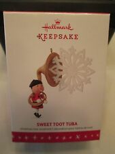 NEW IN THE BOX     HALLMARK KEEPSAKE 2016 LIMITED EDITION SWEET TOOT TUBA