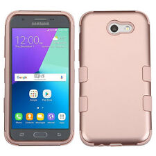 For Samsung GALAXY J3 Emerge J327P HYBRID Shockproof Hard Protective Case Cover