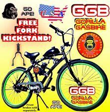 "66cc/80cc 2-stroke motorized bike Kit And 26"" Cruiser Bicycle Motor Bike Kit"