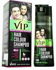VIP 5 in 1 Hair Colour Shampoo base Black hair color (180 ml)