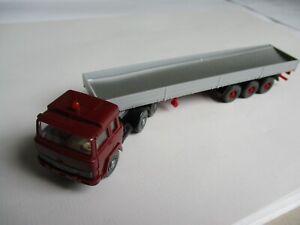 Wiking 1:87 Magirus Tractor Trailer