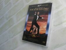 FOR YOUR EYES ONLY - JAMES BOND 007 - REGION 4 PAL DVD