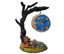 Reloj sobremesa madera esfera hada