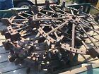 Rustic Antique Tractor Spike Tires 5ft in diameter
