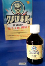 SUPERVAPE  E-LIQUIDE 50/50// 20/80PG/VG & 100%25VG DIY BASE NEUTRE 120ml