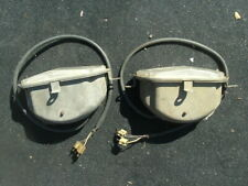 1957 1958 cadillac eldorado brougham fog lights lenzes wiring bulbs OEM pair
