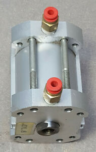 SMC Pneumatic Cylinder NCDQ7A150-150DC Double Acting, Compact Air, 200 PSI