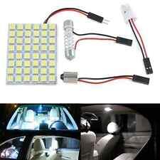 Car Interior 48 SMD 5050 LED Light White Lamp Panel T10 Festoon Dome BA9S 12V HS