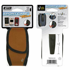 NiteIze Sport Case Tone Rust Brown Small Universal Holster Pouch for Flip Phones