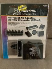 Emerson Power Accessories Av3607 Universal Ac Adaptor /Please See My Description
