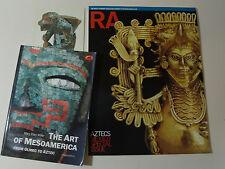 The Art of Mesoamerican BOOK & & Postcard & The Royal Academy Magazine Aztec RA