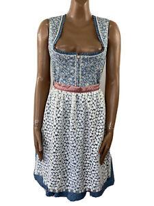 ALPENFEE Dirndl Bavarian Dress Oktoberfest Size 40 UK 12
