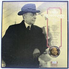 [EX 3 LP SET] The Complete RACHMANINOFF, Vol 4 Beethoven, Grieg and Schubert