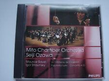 1026 Ravel - Le Tombeau de Couperin, Stravinsky - Pulcinella, Ozawa CD album