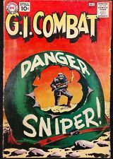 G.I.COMBAT #88 GD+ 1961 SOLID KEY 2ND HAUNTED TANK,KUBERT COVER,HEATH GHOST TANK