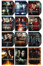 NEW Supernatural Complete Series 1~12 Seasons 1 2 3 4 5 6 7 8 9 10 11 12 DVD SET