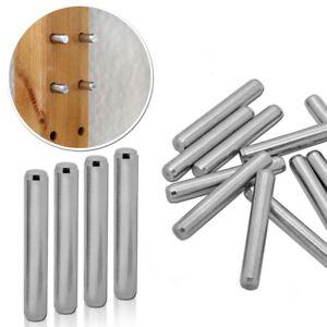 Shelf Bracket Holder Set 4-48 Pcs Metal Bolts For Ikea Ivar Pin Steel Rustproof