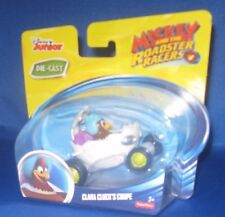 DISNEY JUNIOR DIE CAST MICKEY AND THE ROADSTER RACERS CLARA CLUCK'S COUPE NEW