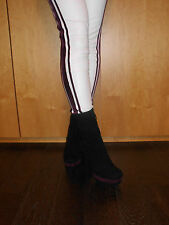 PRADA Plateau Stiefel NEU 100 % Original dunkel-lila  Gr. 40 UVP 899 € Schuhe