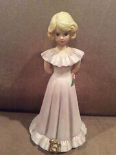 New ListingGrowing Up Birthday Girls Enesco Porcelain Figurine - Age 13