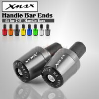 Motorcycle 22MM Grips Plugs Handle Bar End for YAMAHA Xmax X-max 125 200 300 400