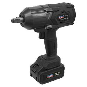 """Sealey CP1812 1/2""""Dr Cordless Impact Wrench 18V 4Ah Battery With Storage Case"""