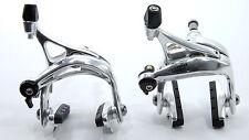 Tektro R580 Dual Pivot Road Bike Brake Set Front and Rear, Silver, 154g Light