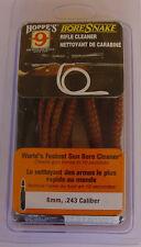 Hoppe's Boresnake 243, 6mm  Hoppes Bore Snake  Bore Cleaner, Clearance!