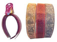 Ten Disney Princes BIRTHDAY Goodie Bag Hair 3 Pack Set Headband Party 100 Sets