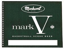 Markwort Mark V Basketball Scorebook (30 Games)