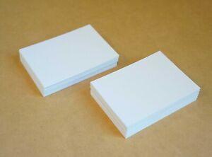 50 Blank ACEO ATC 2.5 x 3.5 Artist Trading Cards 100lb Bristol vellum Paper