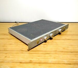 Perreaux SM3 Vintage Dual Channel Class A Preamplifier New Zealand Made W Cord