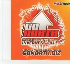 (FR18) Go North 11, 12 tracks various artists - 2011 Music Week CD
