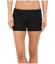 La Blanca Fold-Over Boyshorts Swim Bikini Bottom, 6