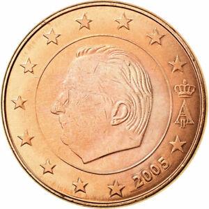 [#722572] Belgique, 5 Euro Cent, 2005, TTB, Copper Plated Steel, KM:226