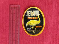 OLD AUSTRALIAN SWAN BREWERY BEER LABEL - EMU PILSNER