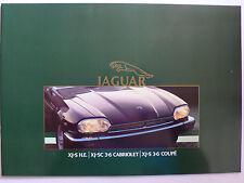 Prospekt - Jaguar XJ.S H.E., 3.6 Cabriolet / Coupe, 12.1984, 20 Seiten,Hochglanz