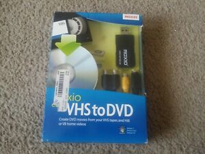 NEW Roxio Easy VHS to DVD  Converter