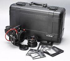 HASSELBLAD ARCBODY KIT W/ APO-GRANDAGON 35mm, 45mm LENSES, CASE +MORE