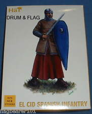 Hat 8176. EL CID SPANISH FANTERIA. le figure in plastica scala 1/72.