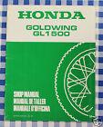BB 67MN530X Manuale Officina Supplemento Honda Goldwing GL 1500 M stampa 91