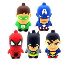 CHIAVETTA USB 8gb supereroe Capitan America Regalo Personaggio 3d NUOVO