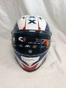 Nexx XR2 Torpedo Red/White/Blue Motorcycle Helmet XL-XXXL