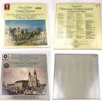 Lot Of 2 Vtg Record Album Sets Franz Schubert Wolfgang Sawallisch New Old Stock